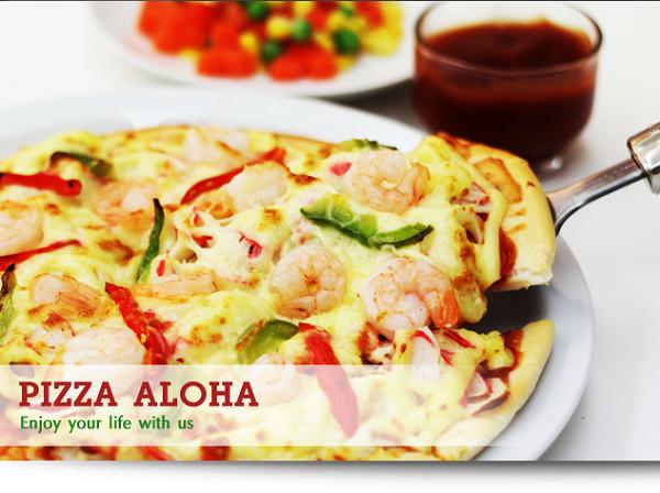 แฟรนไชส์ พิซซ่าอะโลฮ่า(PizzaAloHa)ลงทุนเริ่มต้นแค่ 3,900฿.