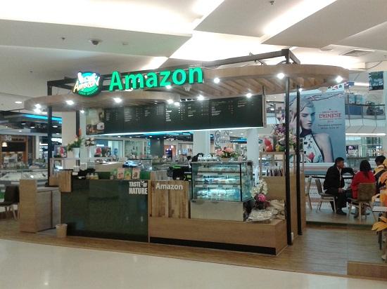 กาแฟสด อเมซอนในห้างสรรพสินค้า