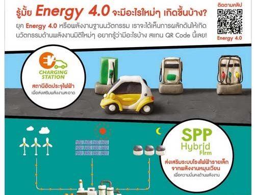"""สำนักงานนโยบายและแผนพลังงาน (สนพ.) เดินหน้านโยบายพลังงานฐานนวัตกรรม """"Energy  4.0"""" ยกระดับประสิทธิภาพของระบบพลังงาน ด้วยเทคโนโลยีและนวัตกรรมที่ช่วยเพิ่มมูลค่า  ..."""