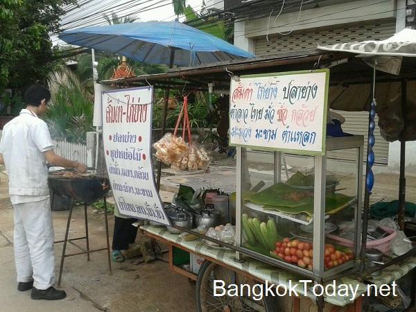 ธุรกิจร้านรถเข็นริมทาง ส้มตำ ตำทุกอย่าง ไก่ย่าง ปลาย่างฯ อาหารอีสาน Best Seller