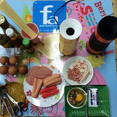 อุปกรณ์แฟรนไชส์ไข่ม้วน ร้อยรส by japan