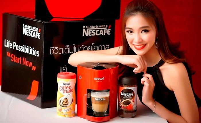 เนสกาแฟ เปิดตัวเครื่องชงกาแฟเนสกาแฟ เรดคัพ ราคา 1,990 ฿.