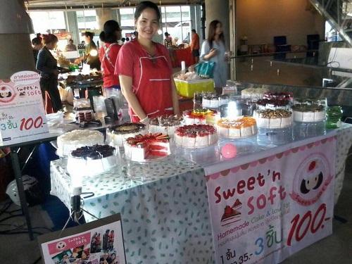 ร้าน Sweet'n Soft Cake  [Size S]